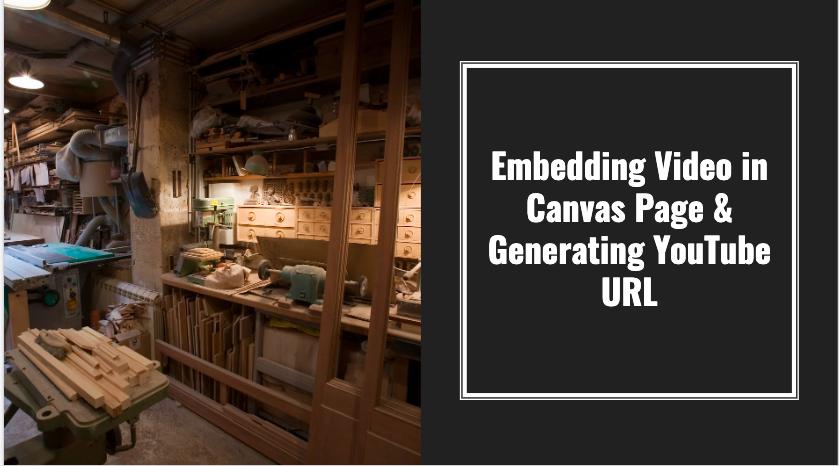 Embedding Video in Canvas Portfolios